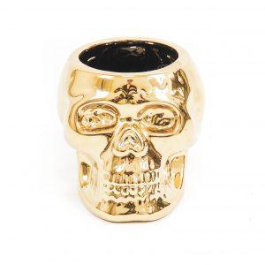 gouden schedel